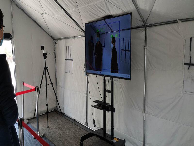 西安工业大学校园人脸识别热感测温筛查系统