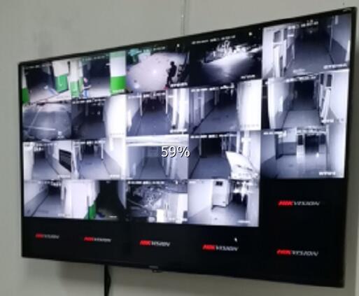 西安百缘宝商贸有限公司仓库安装视频监控系统