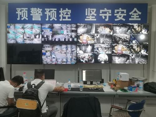 骊山汽车厂安消一体化系统建设